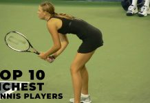 Top 10 richest tennis players